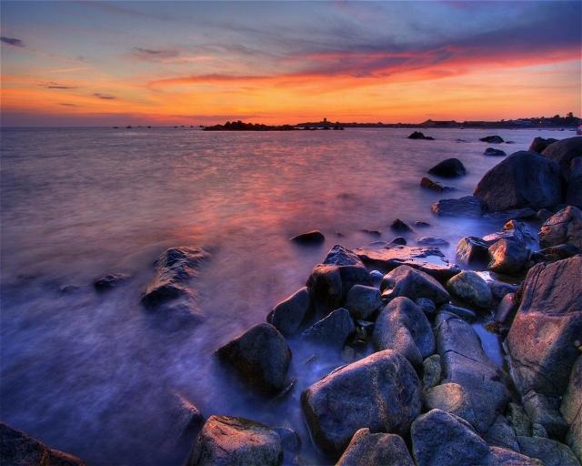 Закатный берег