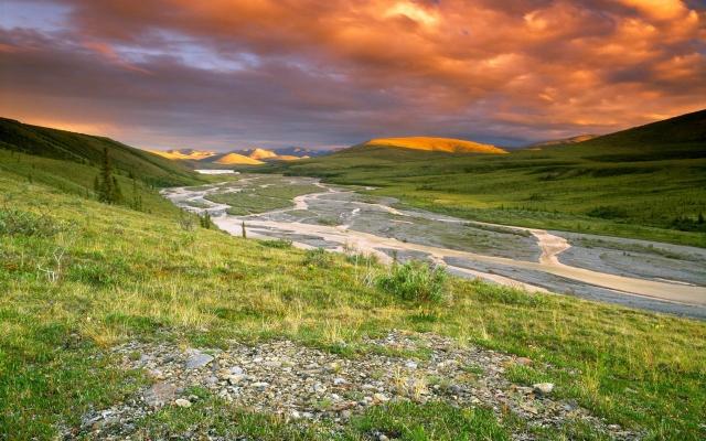 Национальный парк Иввавик Канада