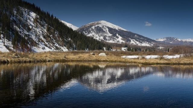 Озеро в Казахстане
