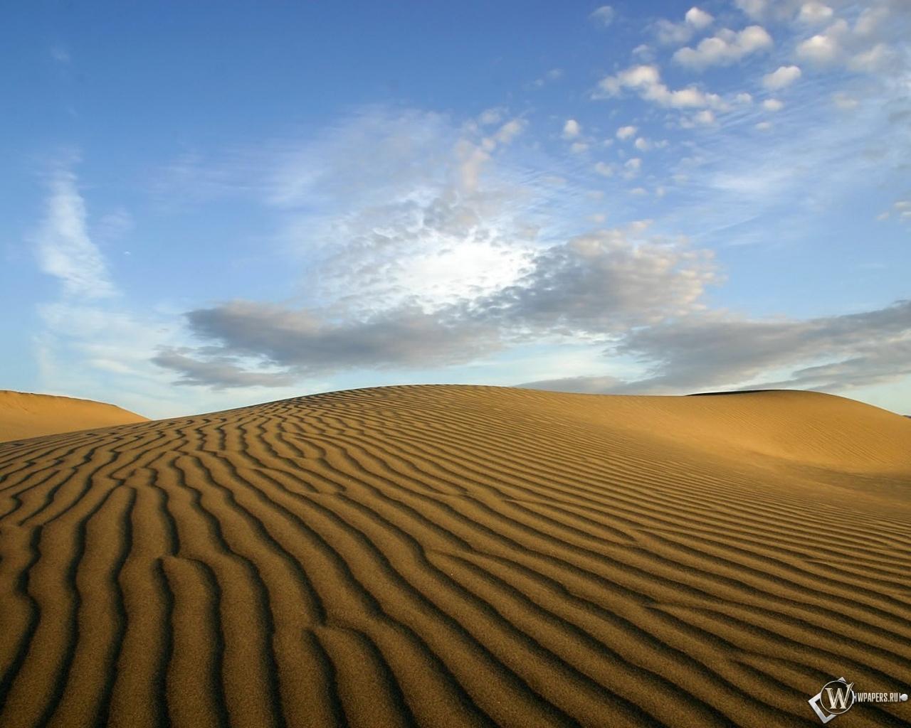 Пустыня 1280x1024