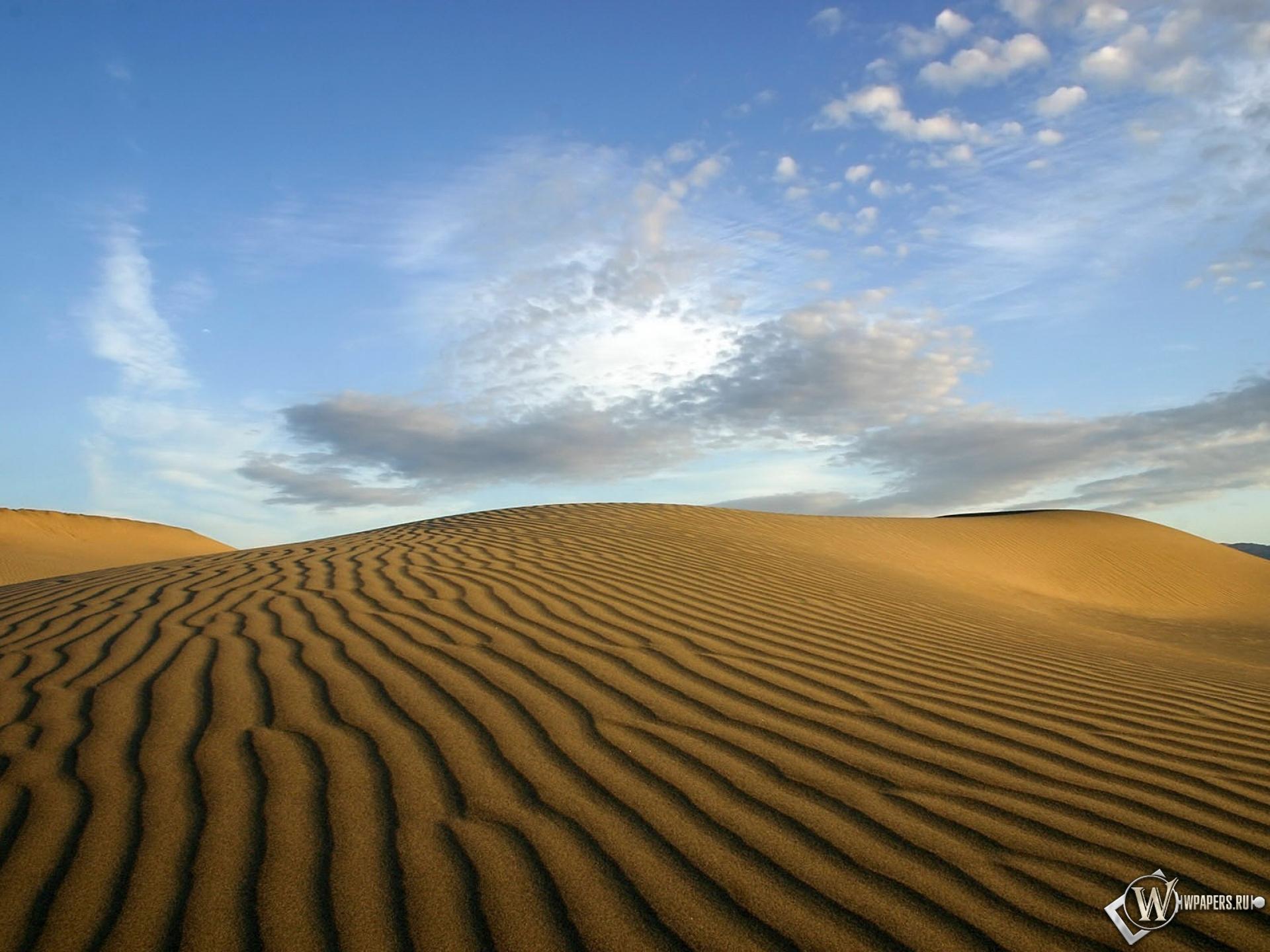 Пустыня 1920x1440