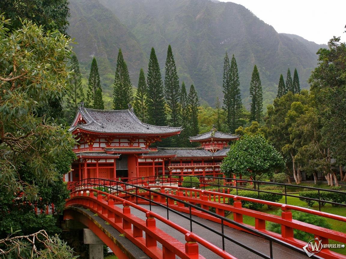 Акаси-Кайкё висячий мост в Японии 1152x864