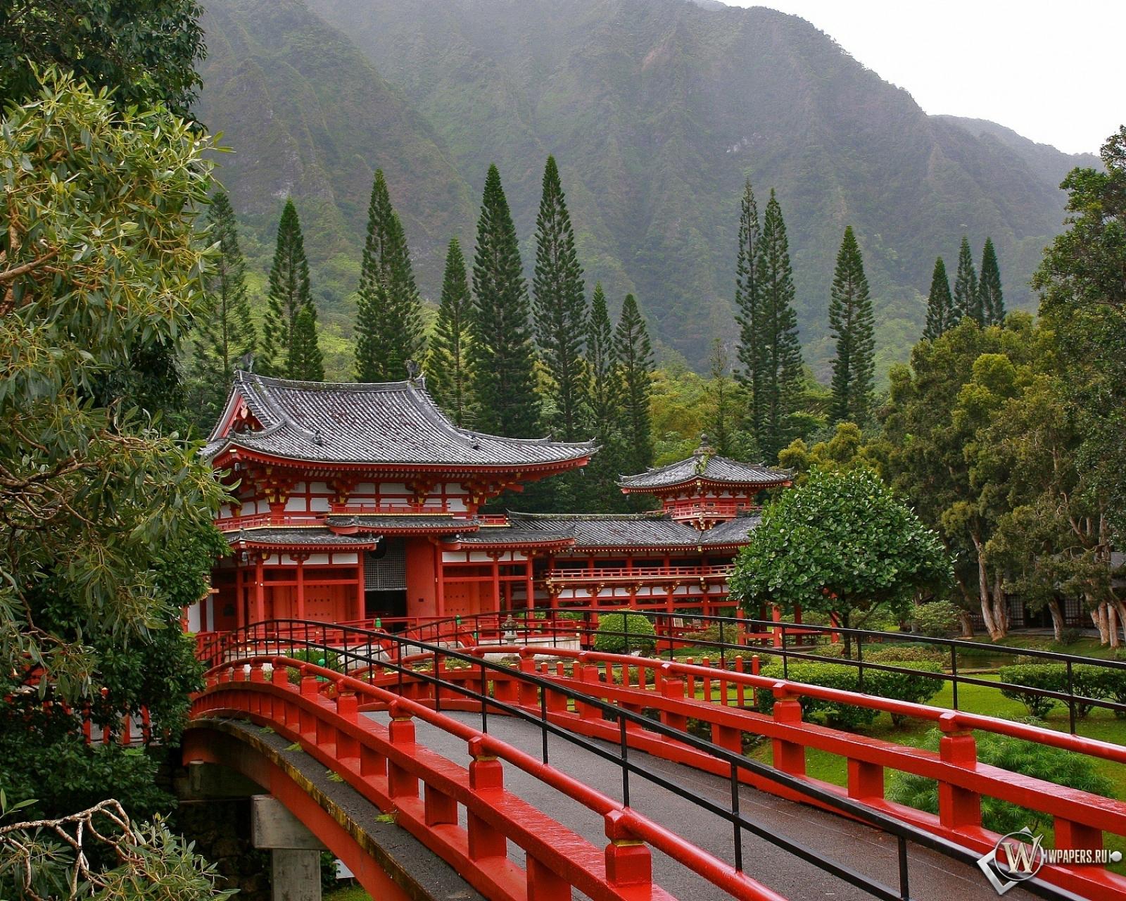 Акаси-Кайкё висячий мост в Японии 1600x1280