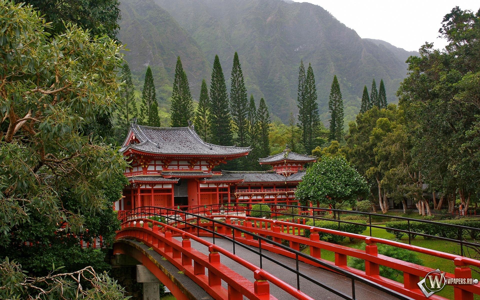 Акаси-Кайкё висячий мост в Японии 1920x1200