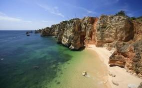 Обои Лагос Португалия: Песок, Море, Скалы, Берег, Природа