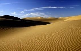 Обои Пустыня Сахара: Пустыня, Песок, Небо, Природа