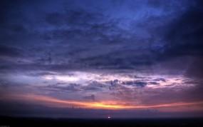 Обои Sunset sky: Облака, Закат, Небо, Природа