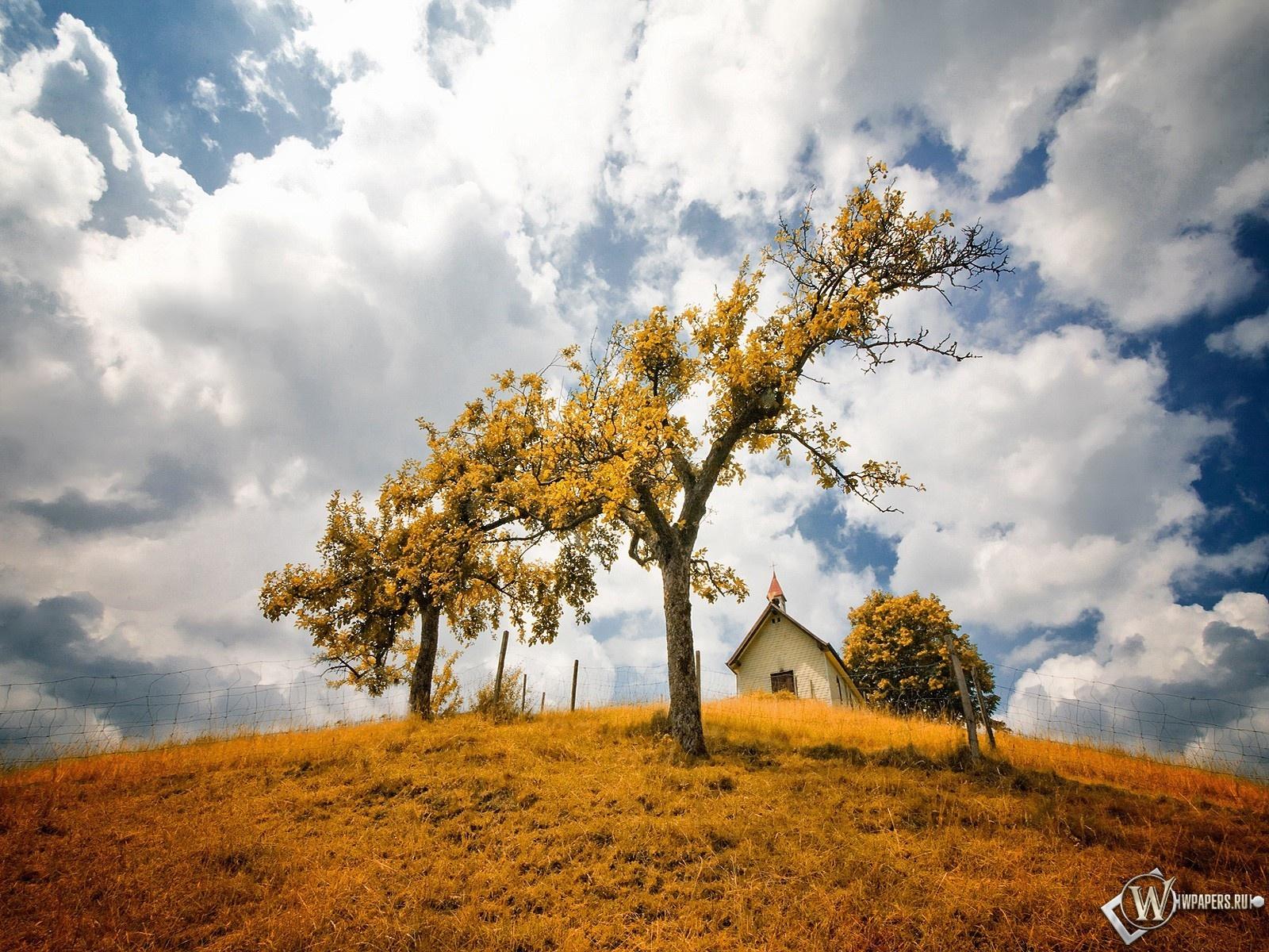 Осенний пейзаж 1600x1200