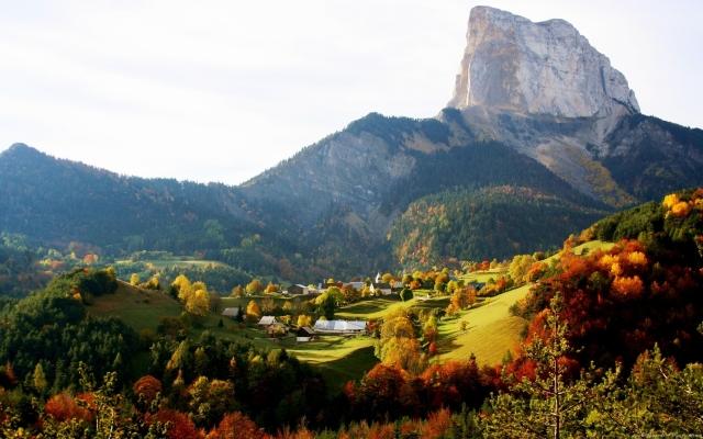 Осень на горе
