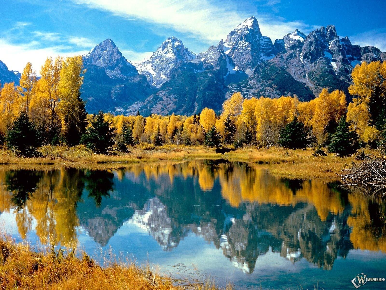 Осень в горах 1600x1200