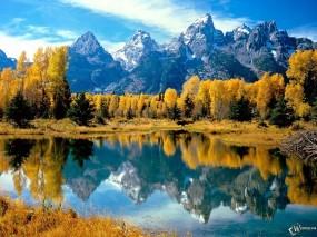 Обои Осень в горах: , Осень
