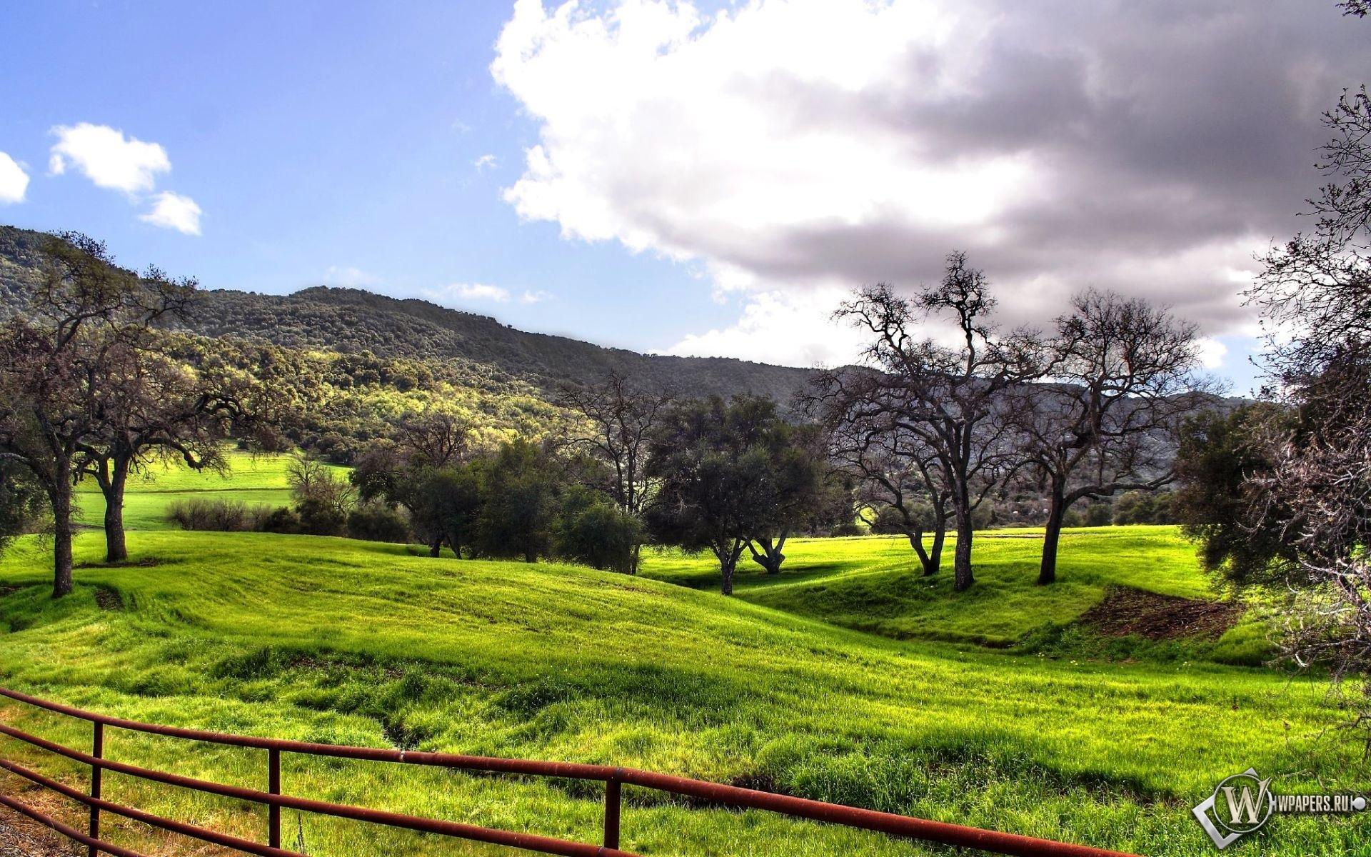 Красивый осенний пейзаж 1920x1200