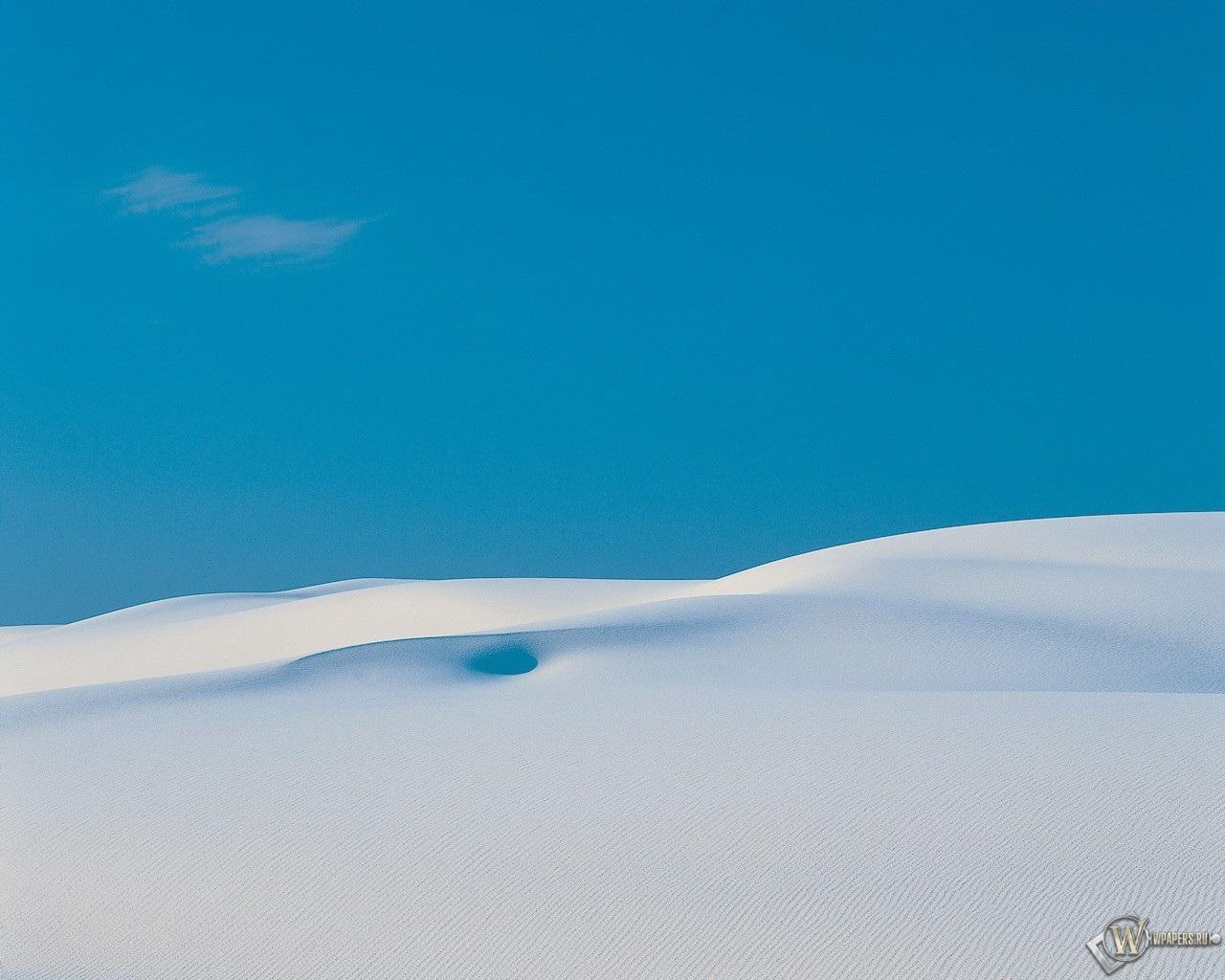 Белый песок 1280x1024