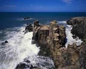 Обои Скалы: Море, Океан, Скалы, Горы
