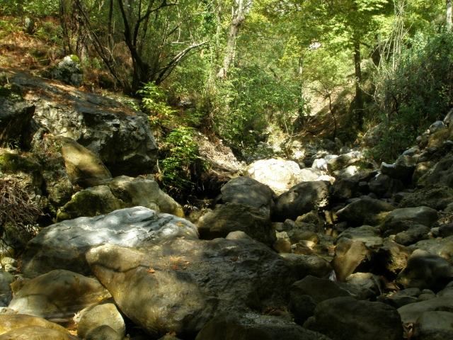 Горная река в Турции
