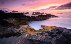 Обои Азорские острова: Камни, Берег, Португалия, Прочие пейзажи