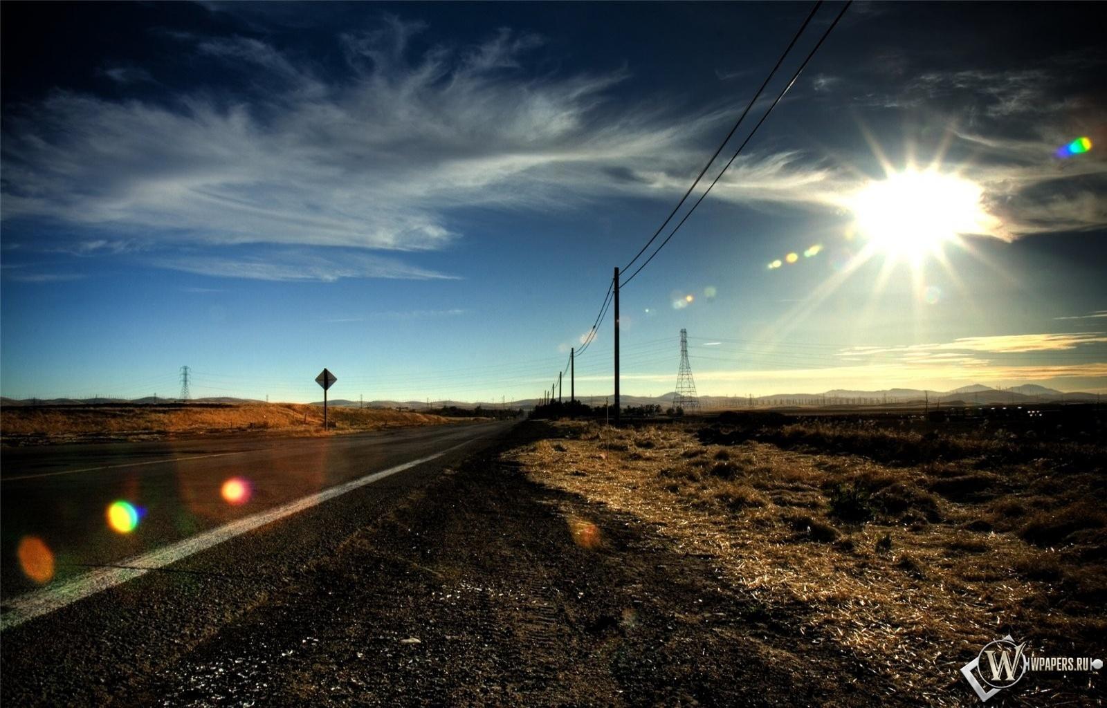 Дорога в никуда 1600x1024