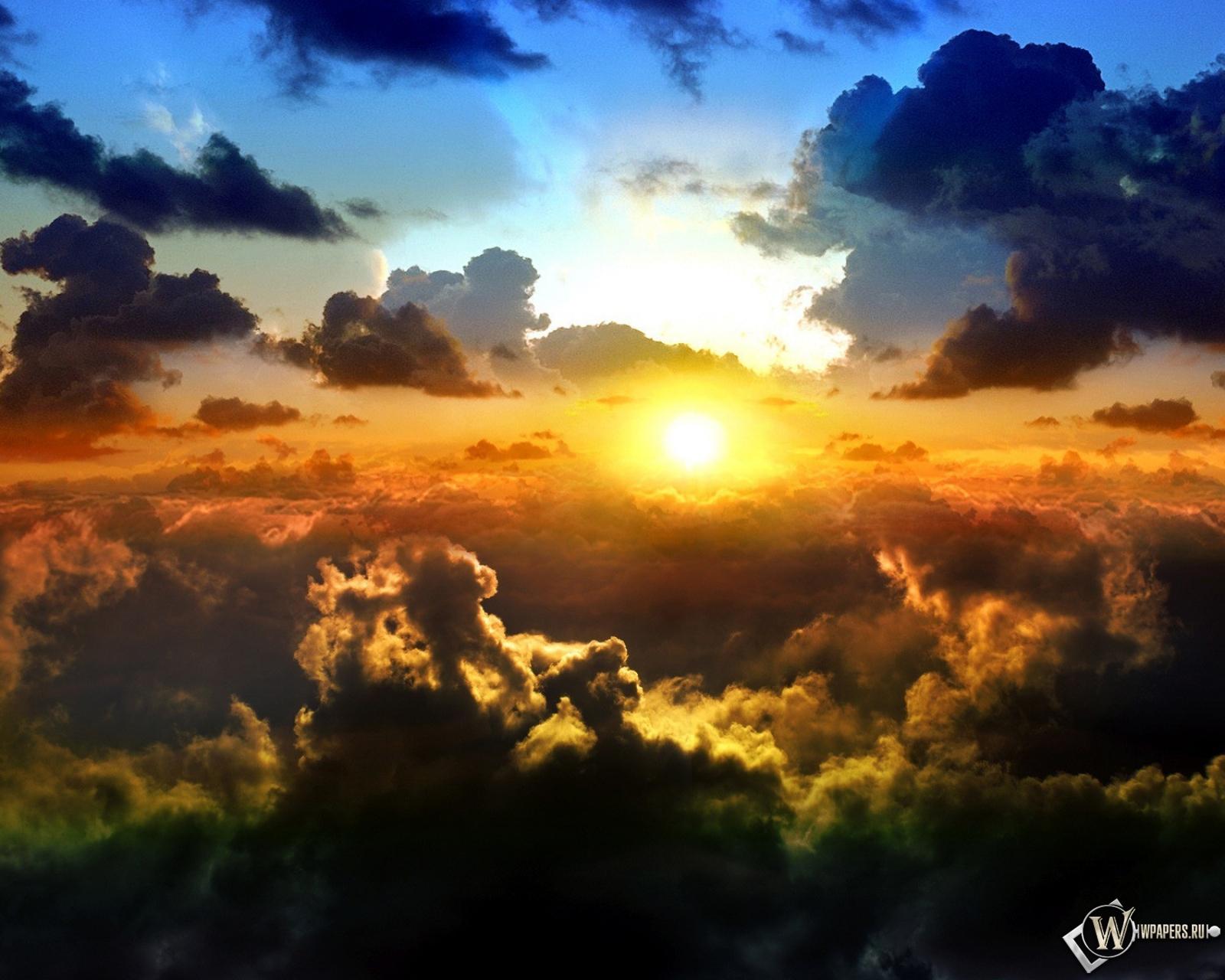 фото солнце и облака