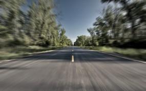 Обои Разгон на дороге: Скорость, Дорога, Движение, Разгон, Прочие пейзажи
