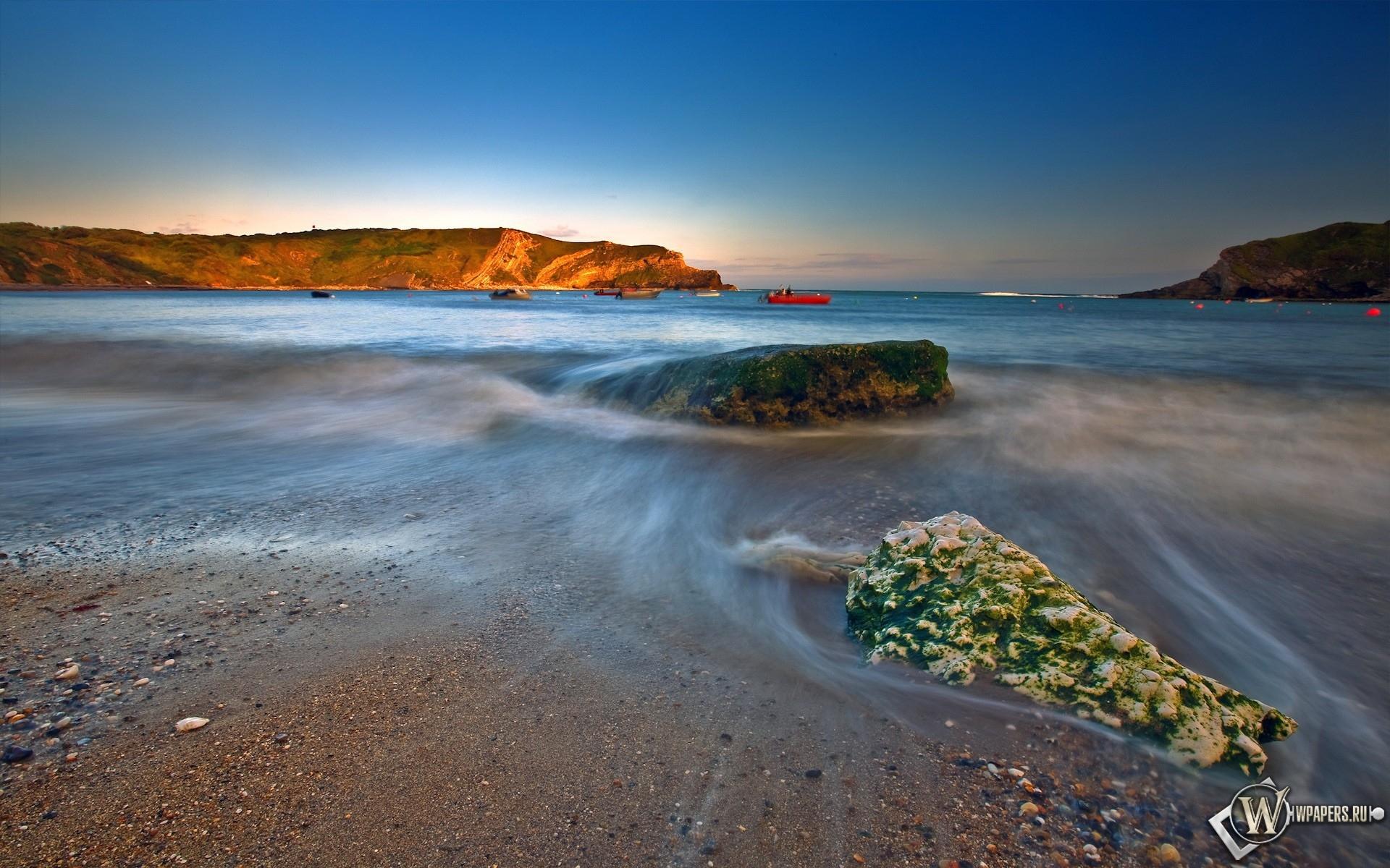 Каменистый берег 1920x1200
