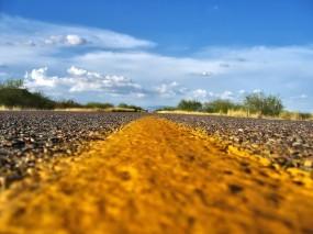 Обои Разметка дороги: Разметка, Дорога, Горизонт, Прочие пейзажи