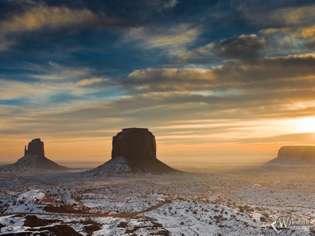 Пустыня Аризоны 1024x768