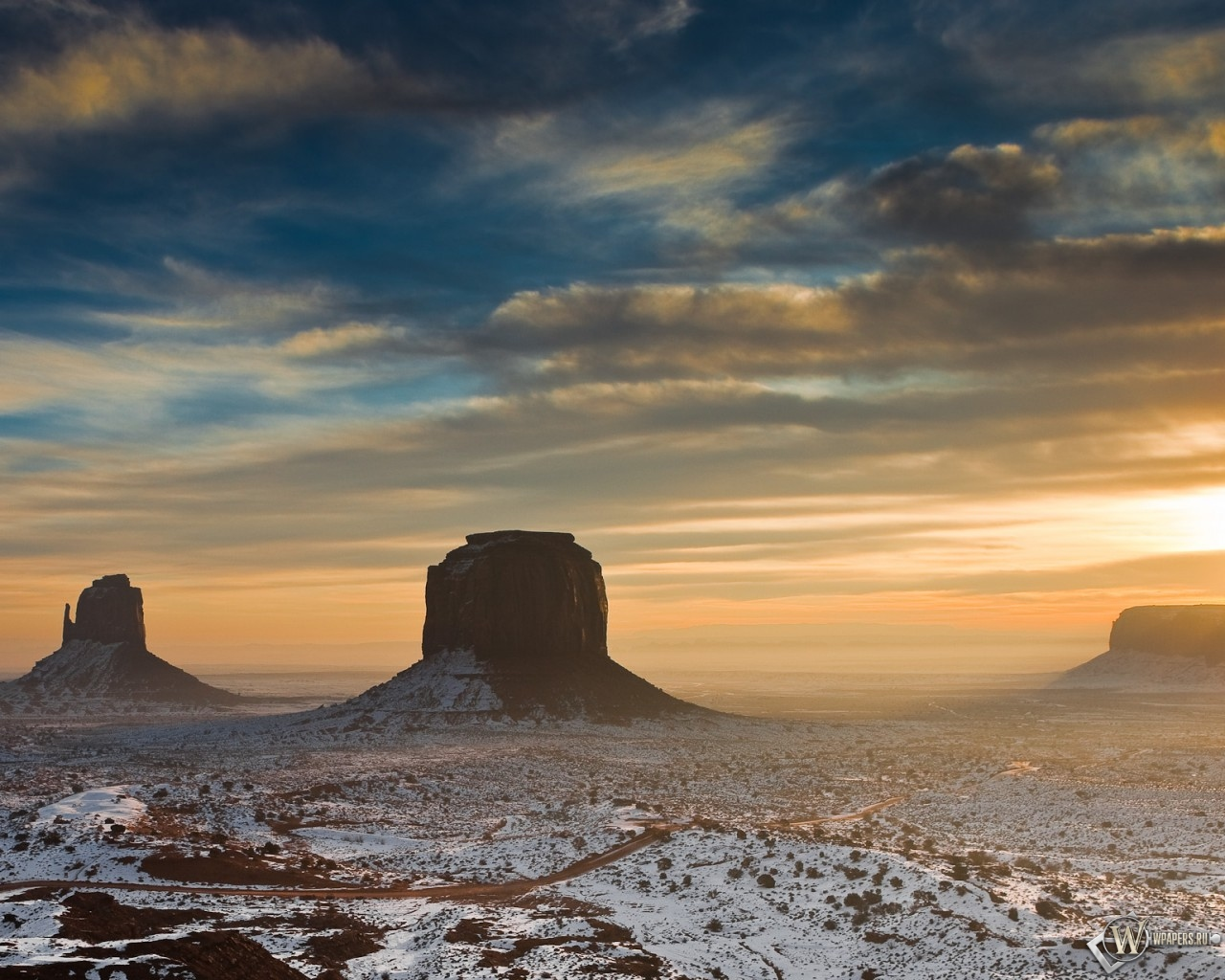 Пустыня Аризоны 1280x1024
