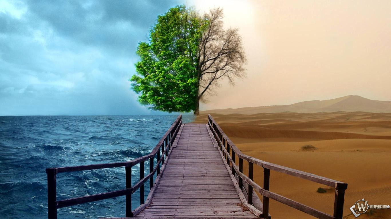 Разный климат 1366x768