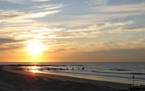 Обои Морской пейзаж: Море, Солнце, Небо, Вода и небо
