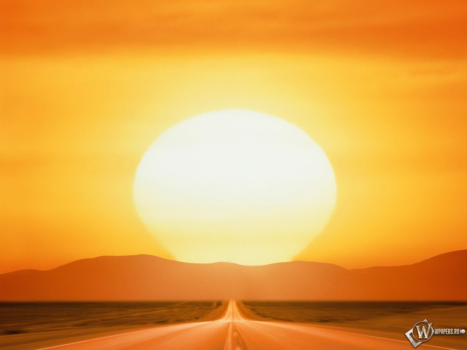 Дорога к солнцу 1600x1200