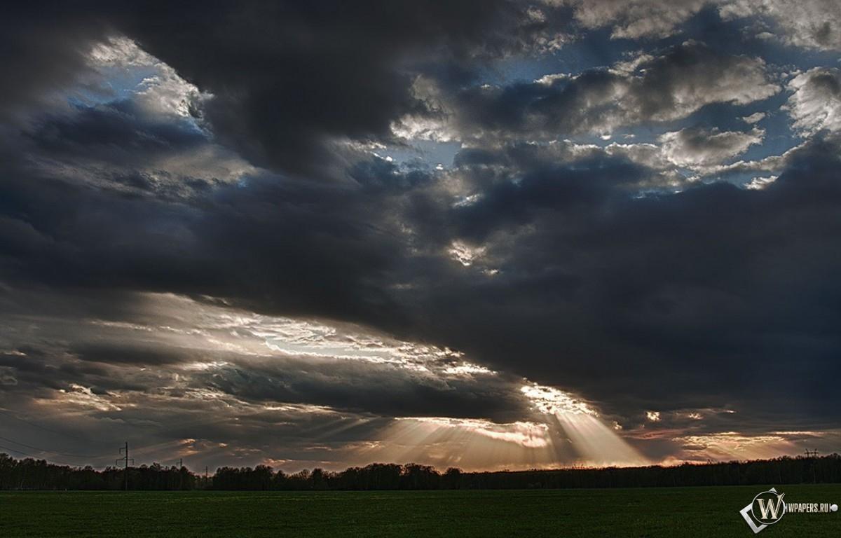 Небесный пейзаж 1200x768