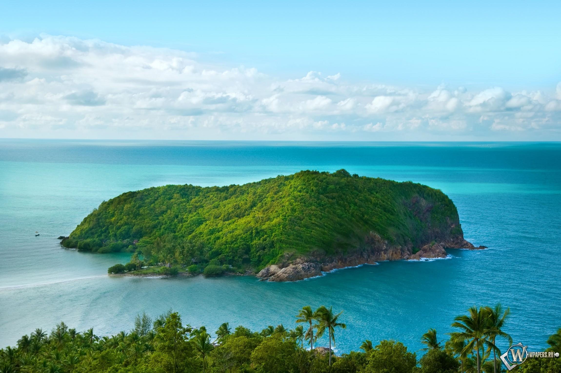 Остров в океане 2300x1530