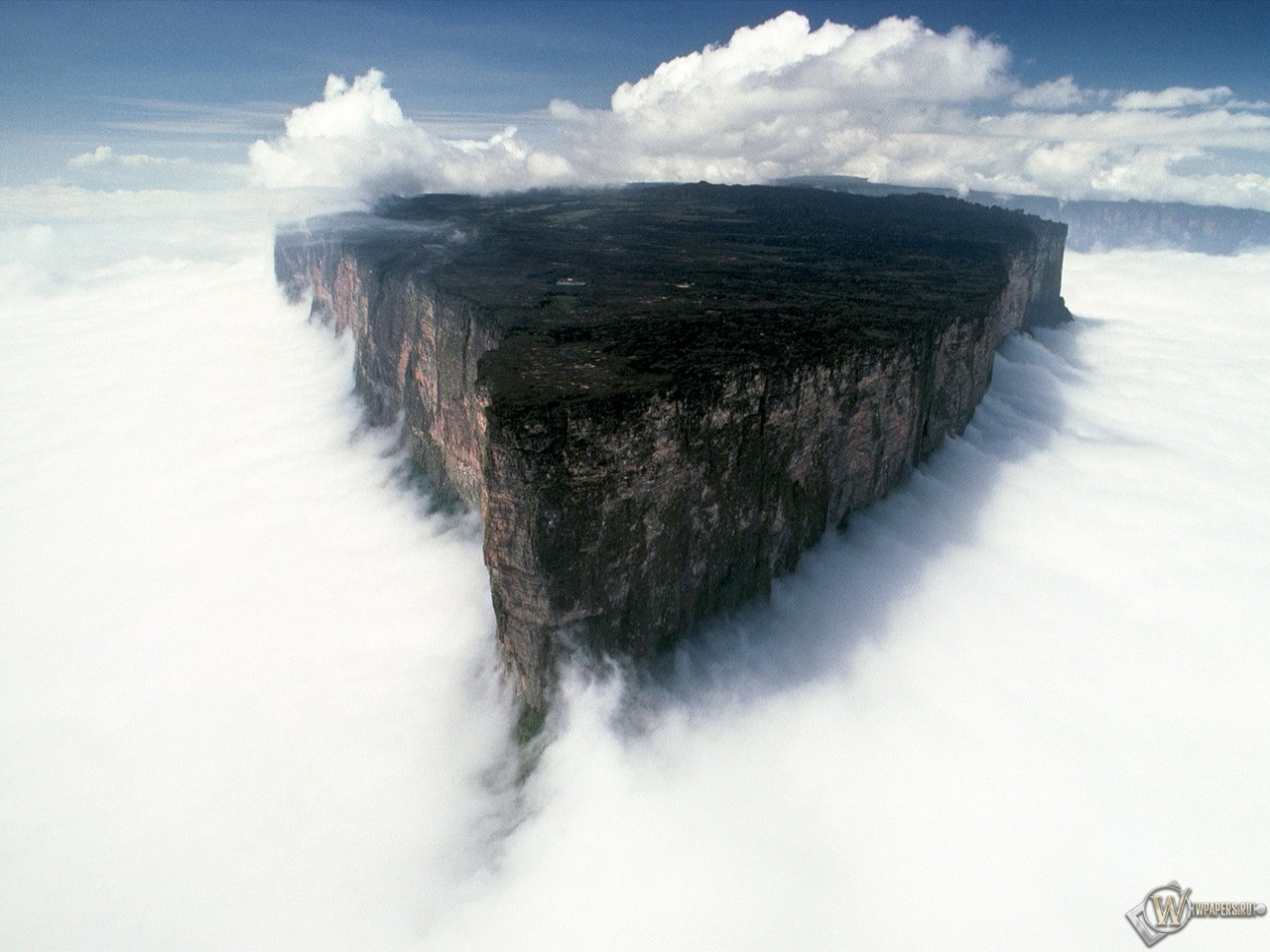 Гора Рорайма в Южной Америке 1280x960