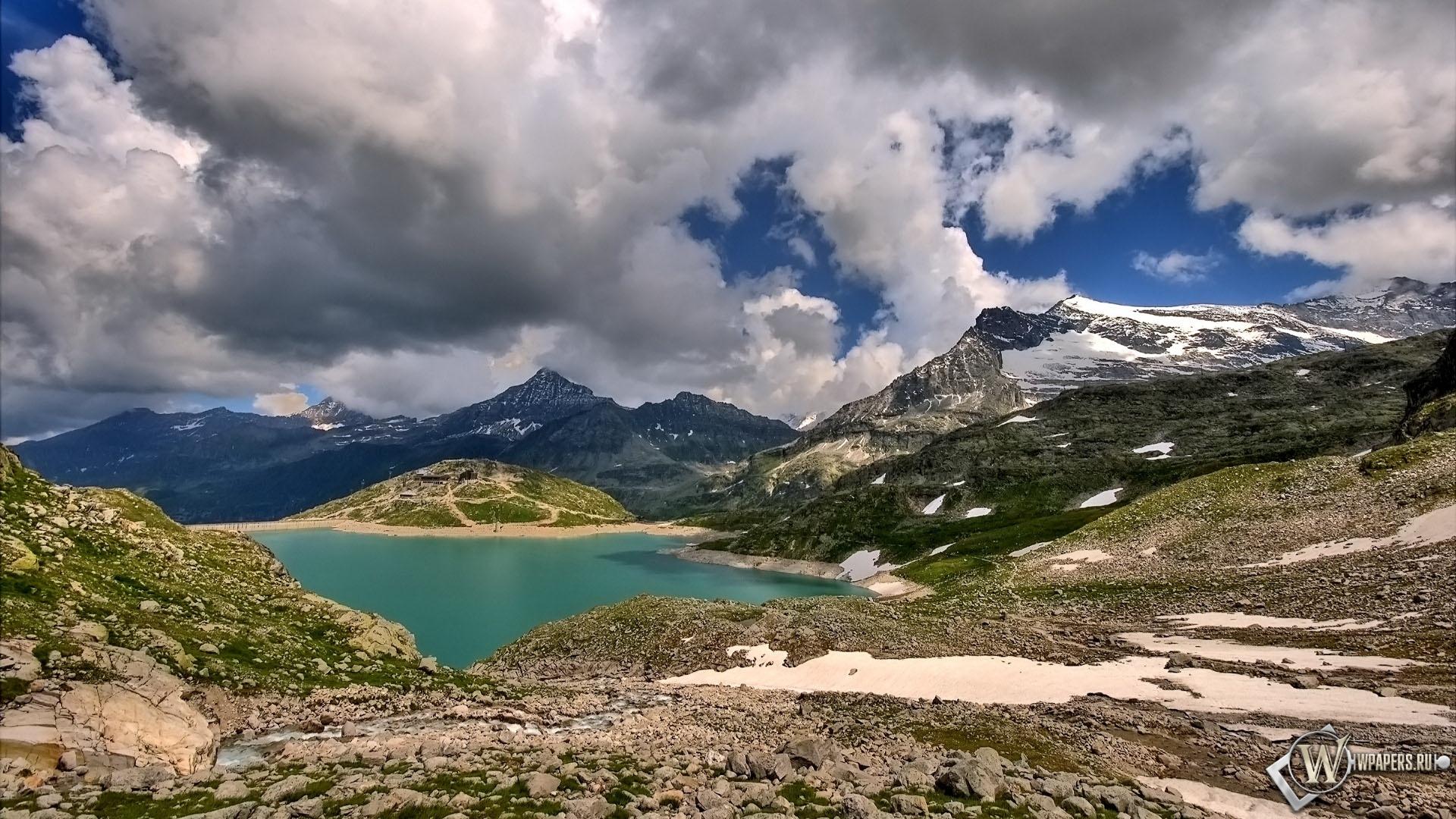 Где-то в горах 1920x1080