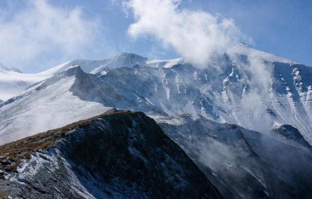 Заснеженые холмы