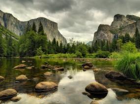 Обои Природа - горы: Горы, Природа, Камни, Пейзаж, Горы