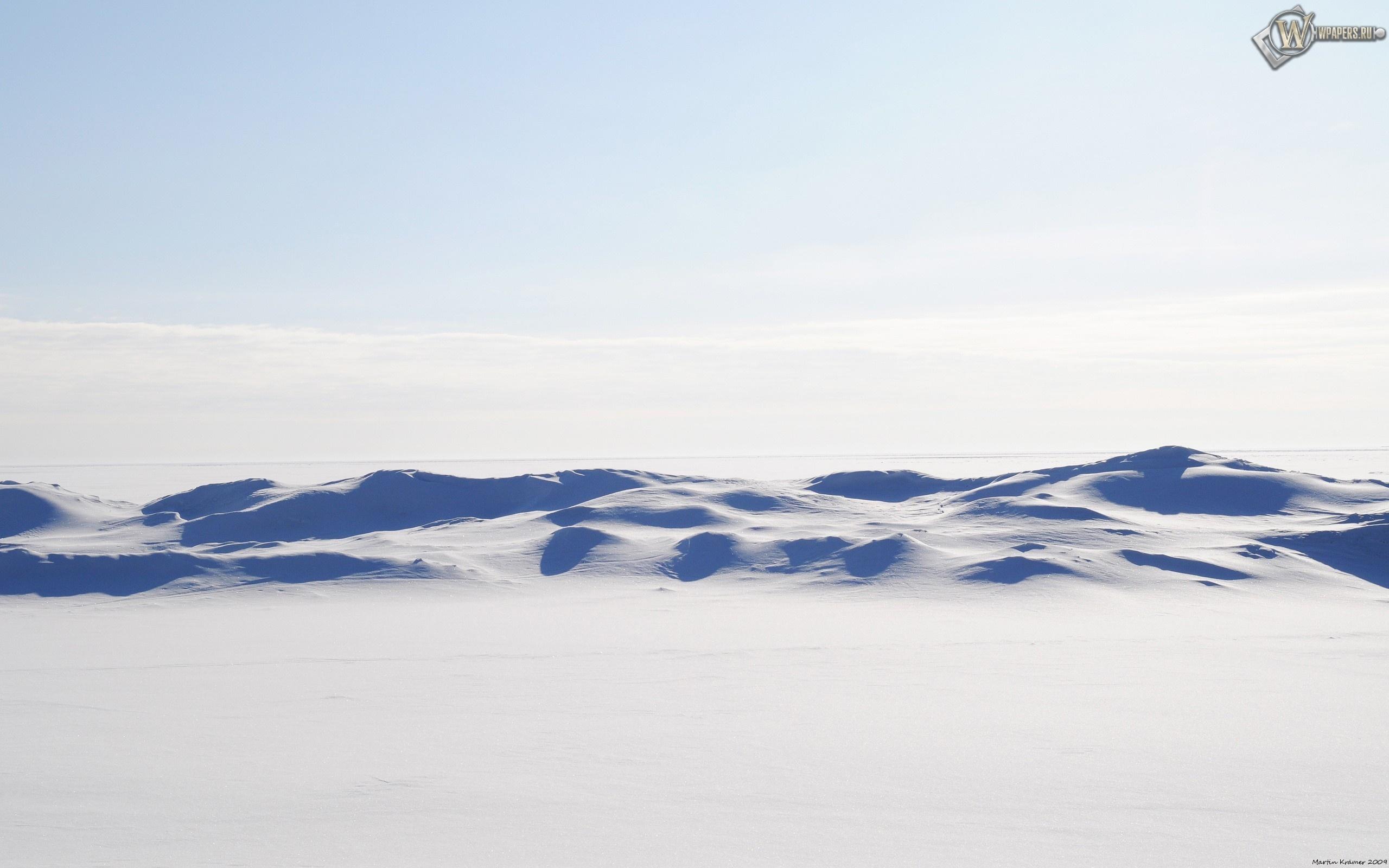 Снежная пустыня 2560x1600