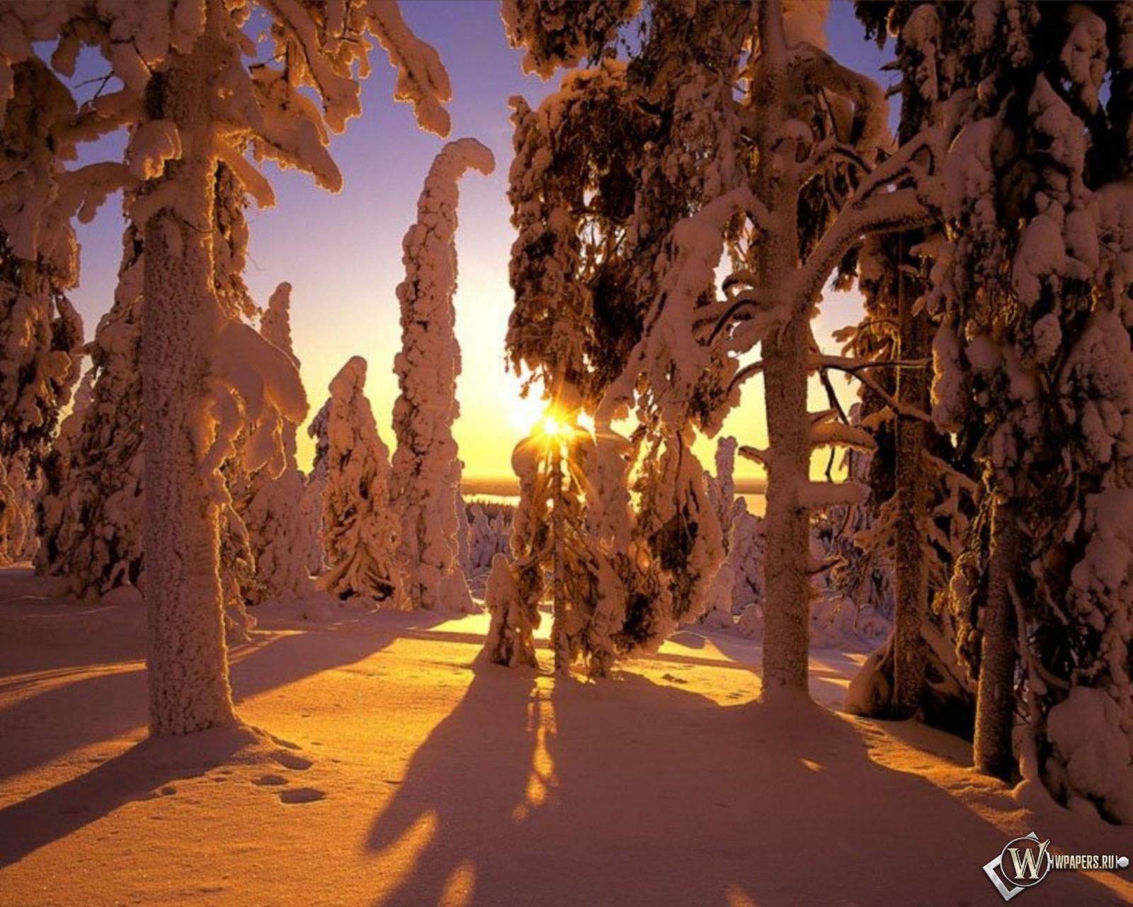 Зима в Финляндии 1600x1280