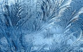 Обои Морозные узоры на стекле: Зима, Узоры, Мороз, Зима