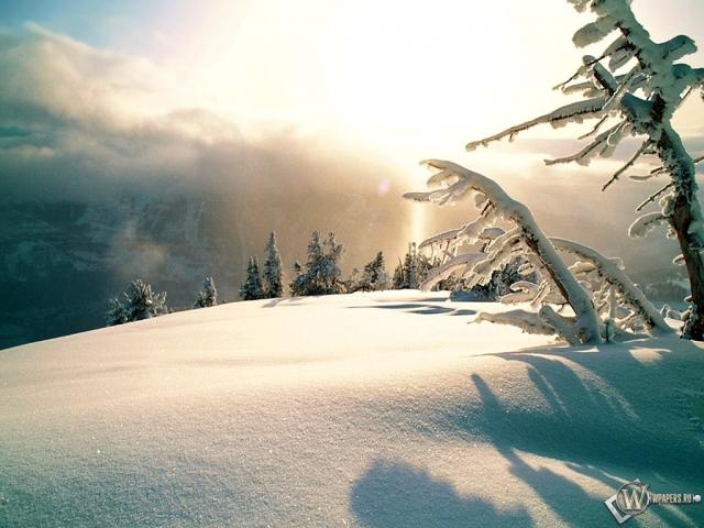 Зимнее высокогорье