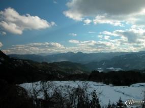 Обои Зимние облака: , Зима