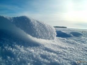 Обои Снег: Снег, Снежинки, Северный полюс, Зима