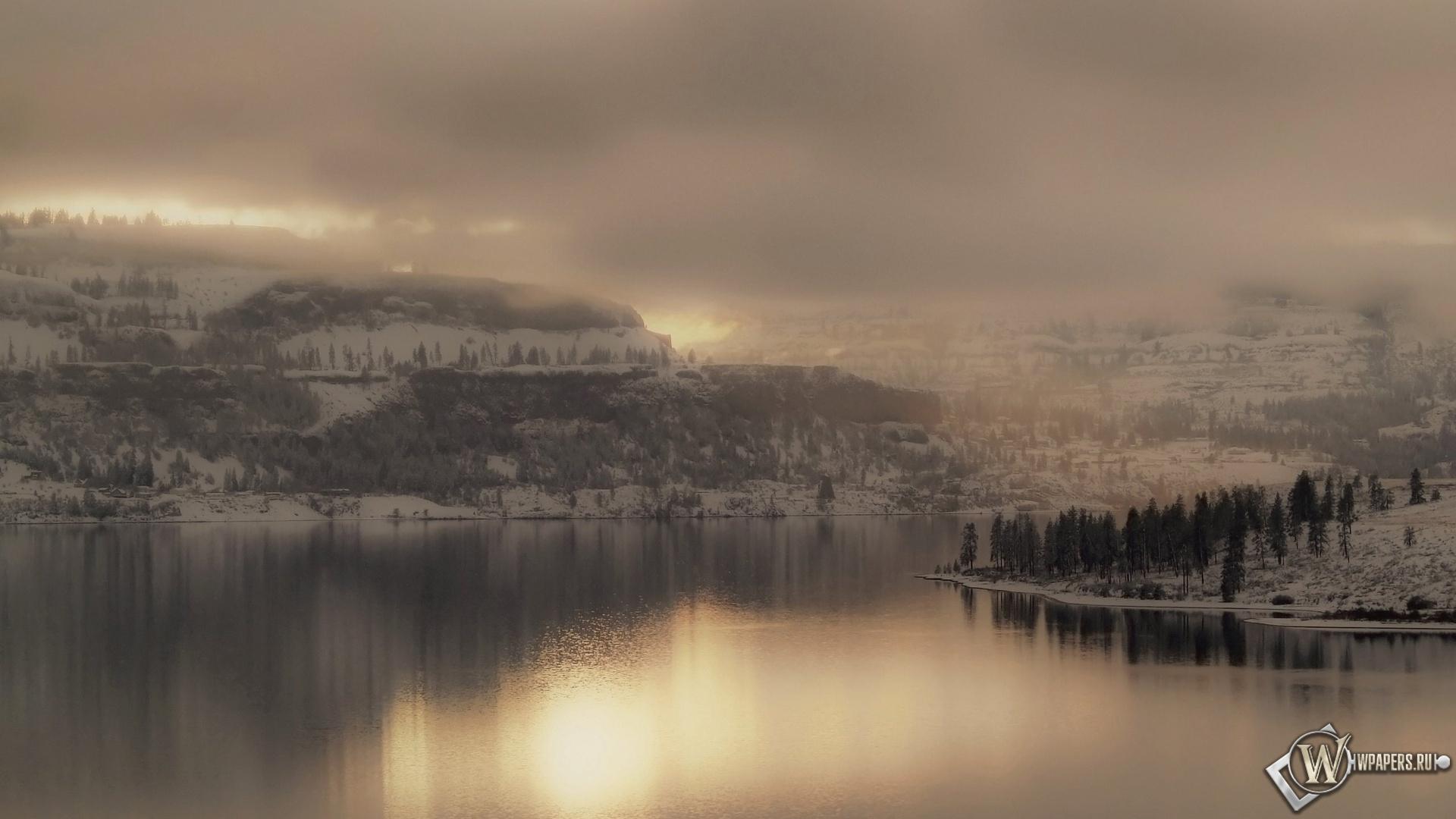 Зимний пейзаж 1920x1080