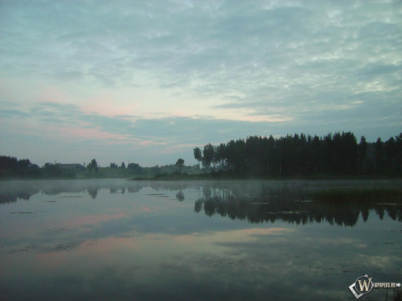 Вечернее озеро 1600x1200