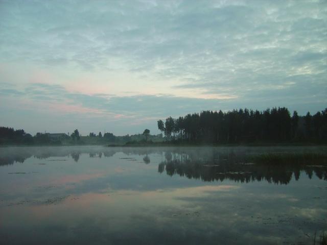 Вечернее озеро