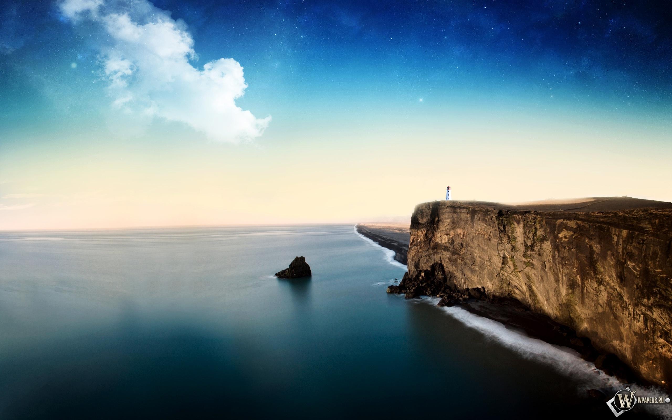Скалистый пейзаж 2560x1600
