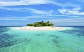 Обои Ла Пальма: Вода, Остров, Вода и небо