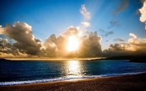 Обои Берег моря: Пляж, Вода, Море, Берег, Вода и небо