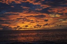 Обои Закат: Облака, Закат, Небо, Прочие пейзажи