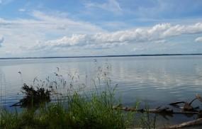 Обои Обское озеро: Озеро, Небо, Природа